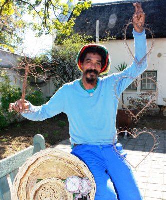 Local artist weaves his magic