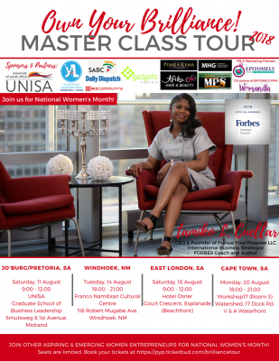 Forbes International Business Coach Launches South Africa Tour For National Women's Month