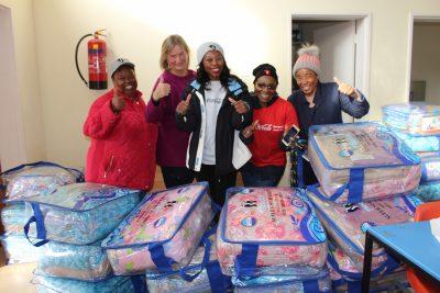 CCBSA Bloemfontein employees give back to Tswellang School