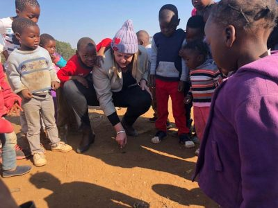 Mandela Day Marks the Building of Crèche in Woodlane Village