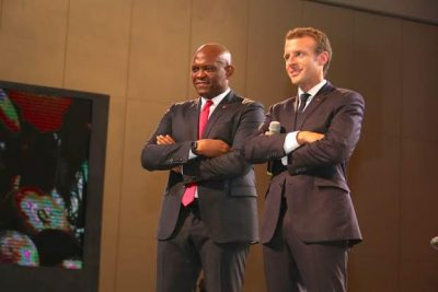 Tony Elumelu Foundation Hosts Interactive Session With Macron and 2000 Young African Entrepreneurs