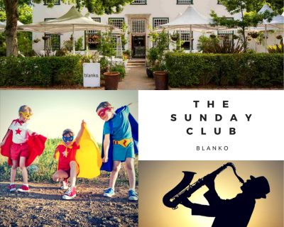 The Sunday Club at Blanko Restaurant in Constantia