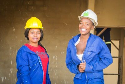 Young Renishaw Hills' construction trainees pave the way for female empowerment