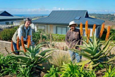 Landscape artist nurtures blossoming talent on Renishaw Hills' horticultural team