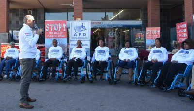 Wheelchair Wednesday rolls into business