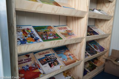 Hytec sponsors 5th container library for Mandela Libraries Project: Papong Primary School, Limpopo