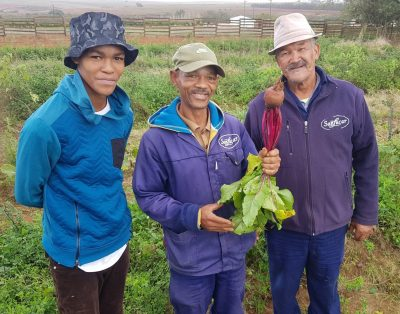 A Permaculture Garden For The Farm Community