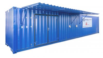 Hytec Services Africa containerised workshop facilitates mine site-based hydraulic services