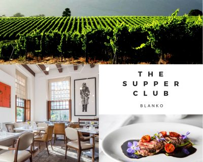 The Supper Club at Blanko in Constantia