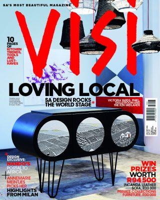 New Media publication (VISI) wins global design award