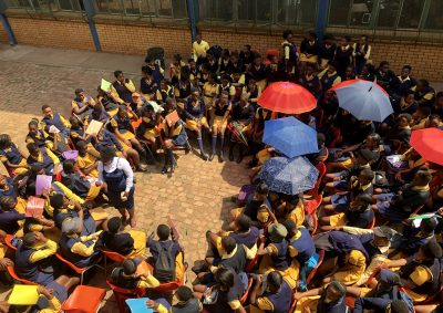 Thuto Lesedi Secondary School hosts a Girl Talk to celebrate International Girl Child Day!