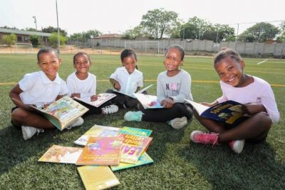 The joy of books is shared in Fourways and Diepsloot