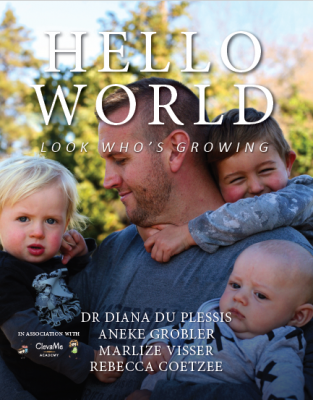 Hello World: Look Who's Growing book launch. Saturday, 7 October.