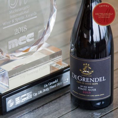 De Grendel Triumphs with a Trophy and Three Double Gold Medals at the Michelangelo Awards 2018