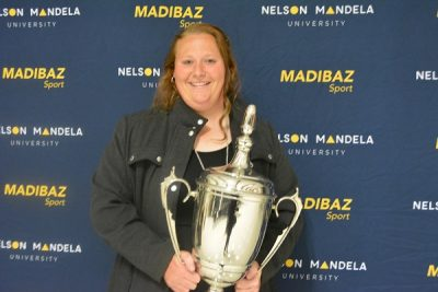 Senekal tops off successful year with Madibaz award