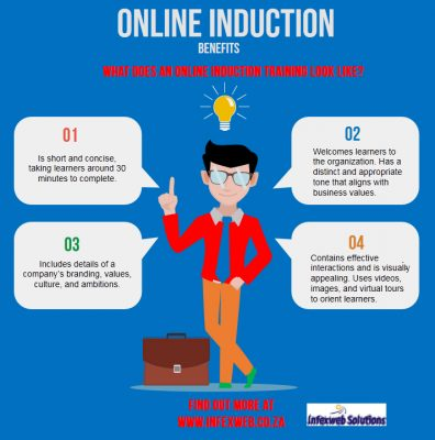 Why taking your induction training online is an effective solution for employers and employees.