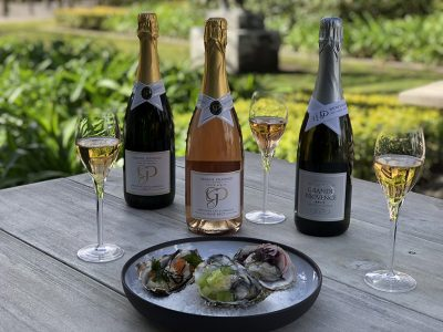Grande Provence oysters & bubbly pairing smacks of summer