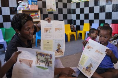 Nal'ibali recognised as a top education innovator by African Union
