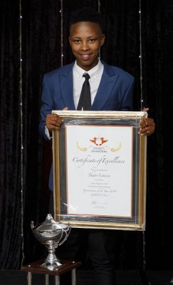 Hard work pays off for UJ soccer star