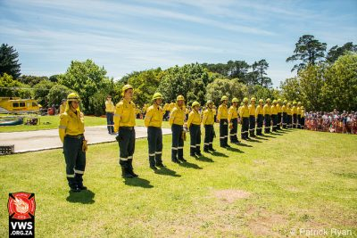Volunteer Wildfire Services New Recruit Induction Ceremony
