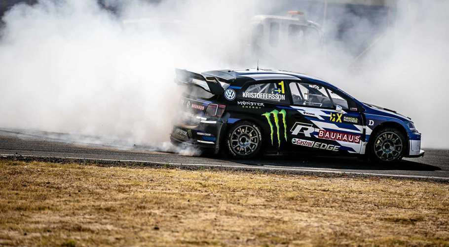 2018 World Rallycross Champion Kristoffersson Wins Season Finale in South Africa