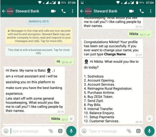 Whatsapp chats übernehmen