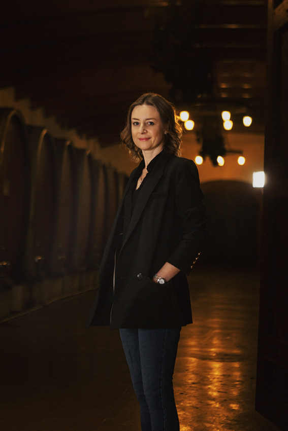 Andrea Freeborough, new Distell head winemaker Photo: Supplied by Distell