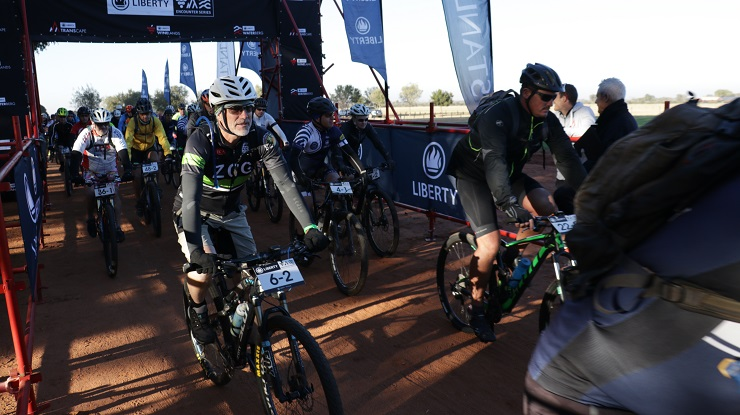 The Liberty Group is looking forward to renewing its relationship with the Encounter Series when the Waterberg Encounter mountain-bike race takes place near Bela-Bela in Limpopo from June 7 to 9. Photo: Gerrie Kriel/Twin Productions