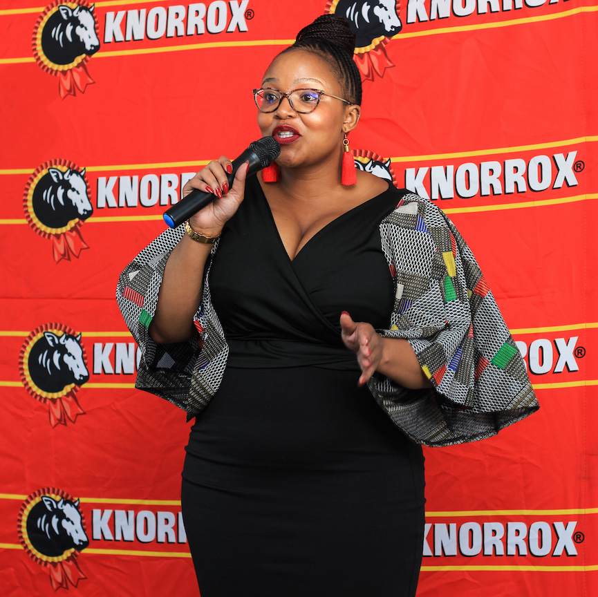 Brand Lead for Knorrox, Mbali Ndlovu Photo: Mnqobi Zuma