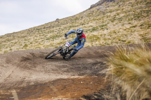 Theo Erlangsen Wins 2019 SA Downhill Mountain Biking National Championships.