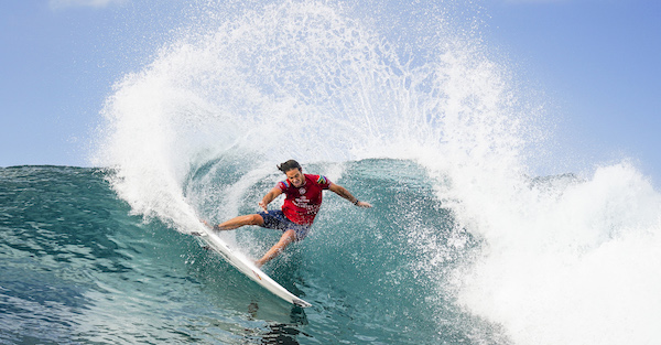 Jordy Smith at the Corona Bali Protected Photo: © WSL/Dorsey