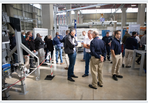 Customers had the opportunity to see many of the Group's technologies in action and discuss their application directly with the Group's knowledgeable staff.