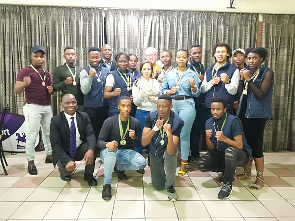 Madibaz karate team