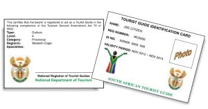 Tour Guide ID Card